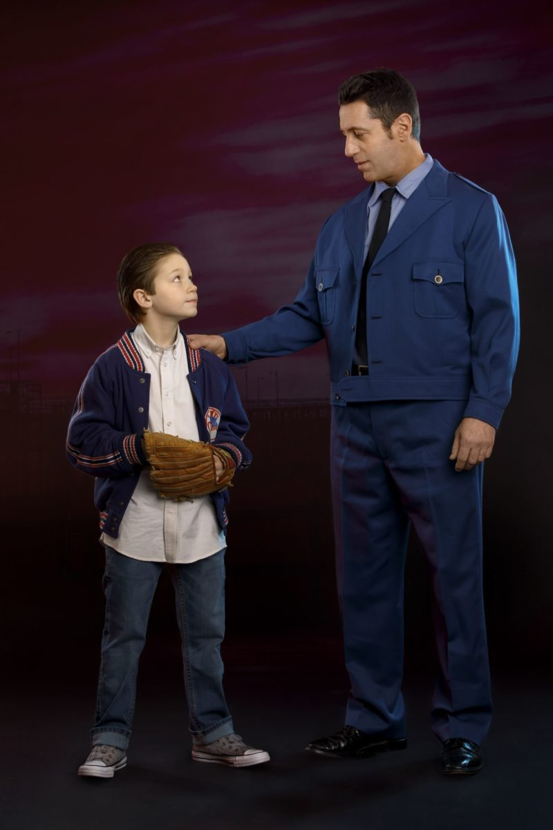 Young Calogero and Lorenzo - A BRONX TALE - photo by Joan Marcus