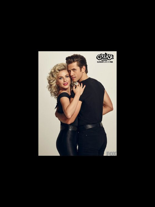 HS - Grease - wide - Aaron Tveit - Julianne Hough
