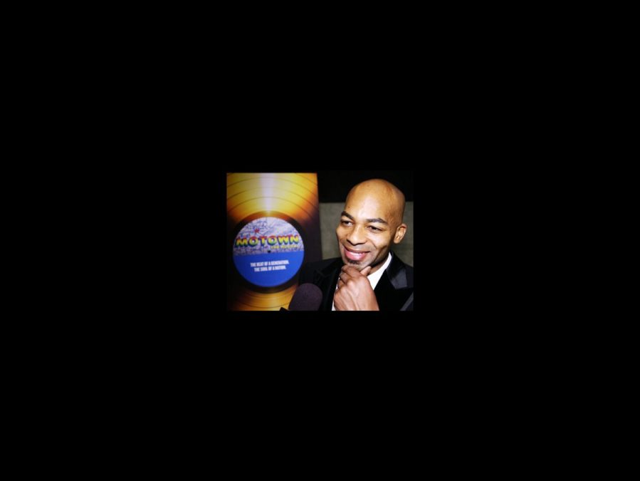 On the Scene - Motown opening - Brandon Victor Dixon - 4/13