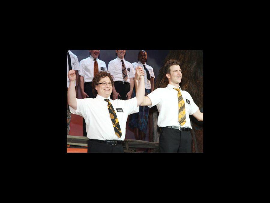 Jared Gertner and Gavin Creel- Book of Mormon LA