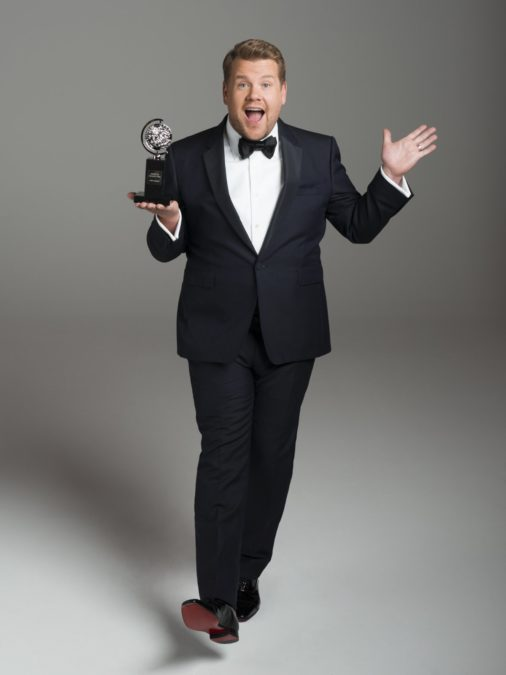 Tonys 2016 - James Corden - Jason Bell/CBS