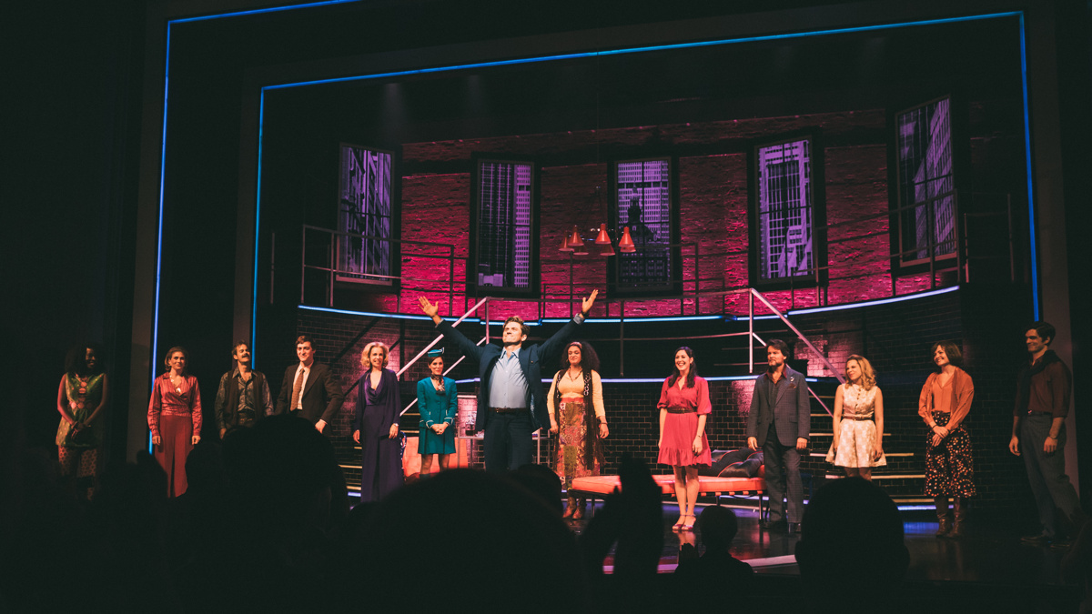 OP - Aaron Tveit - Company - OPENING - Barrington Stage - 8/17 - Caitlin McNaney