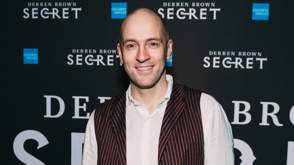 OP - Derren Brown Secret - Opening Night - Derren Brown - 9/19 - EMK