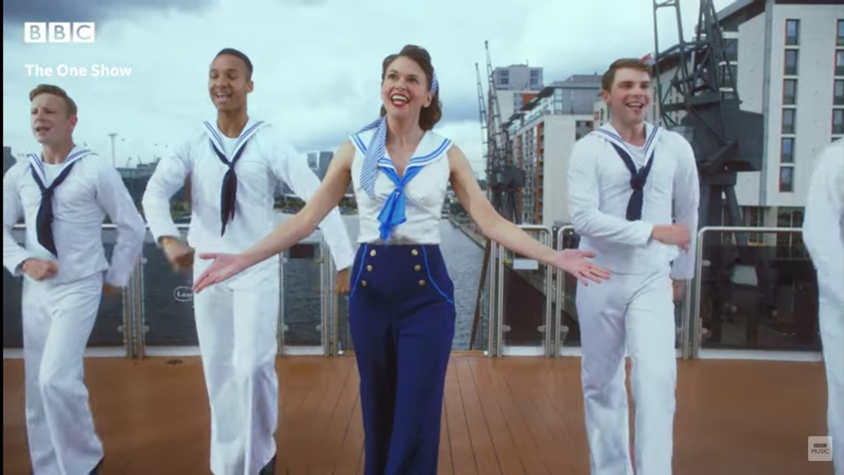 WI - Sutton Foster - 7/21 - Anything Goes - West End