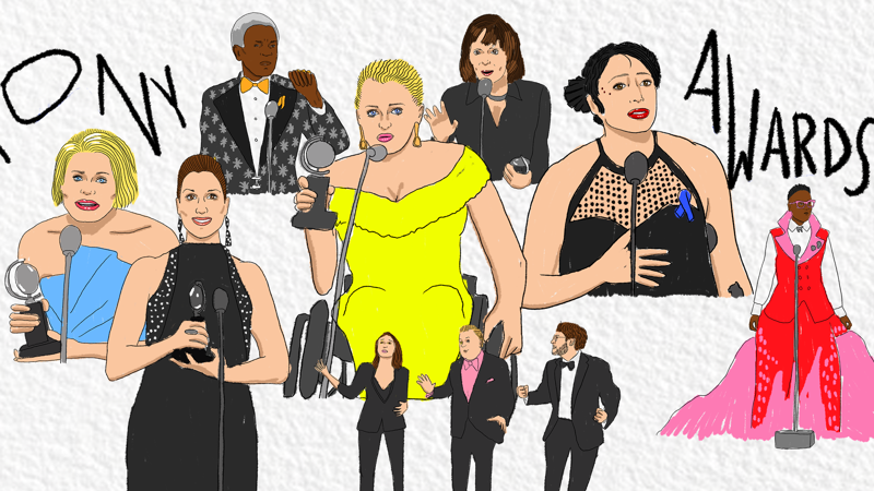 Tony Awards 2019 Illustrations - 6/19 - Ryan Casey